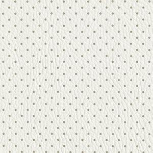 tessuto di interno cuscini bianco perforated socovenamapla