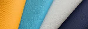 ecopelle blu gialla e azzurra socovena